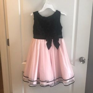 Other - Girls pink and black dress
